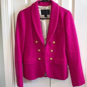 J.CREW Collection Wool crepe Blazer
